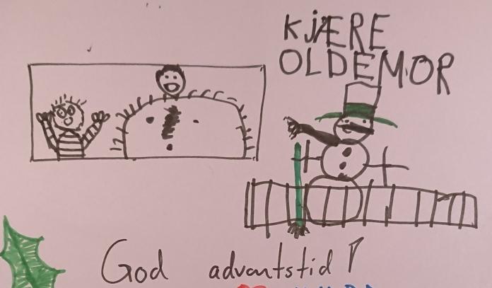 juletegning